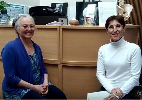 איריס בר לב בראיון עם לורה גייטס