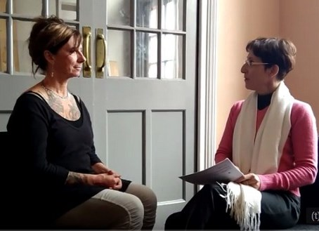 איריס בר לב בראיון עם טריסה אוונס